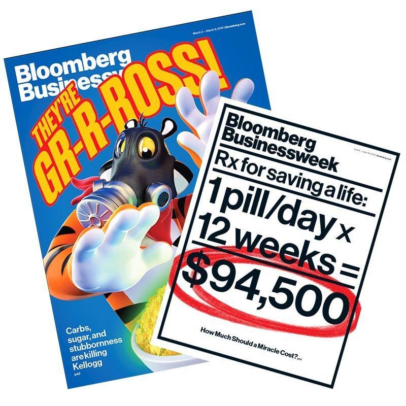 《Bloomberg Businessweek》二年(100期)+送8期1
