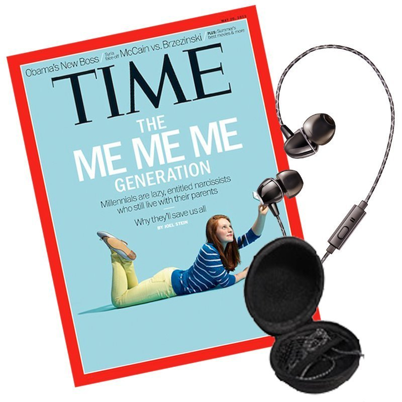 TIME 36期(9個月)+ 送THOMASON高音質線控耳機(贈品)★送TIME數位版+送英文精裝書1