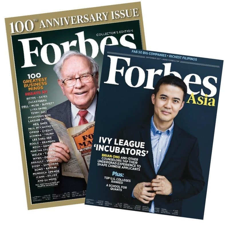 Forbes Asia 一年(10期)1