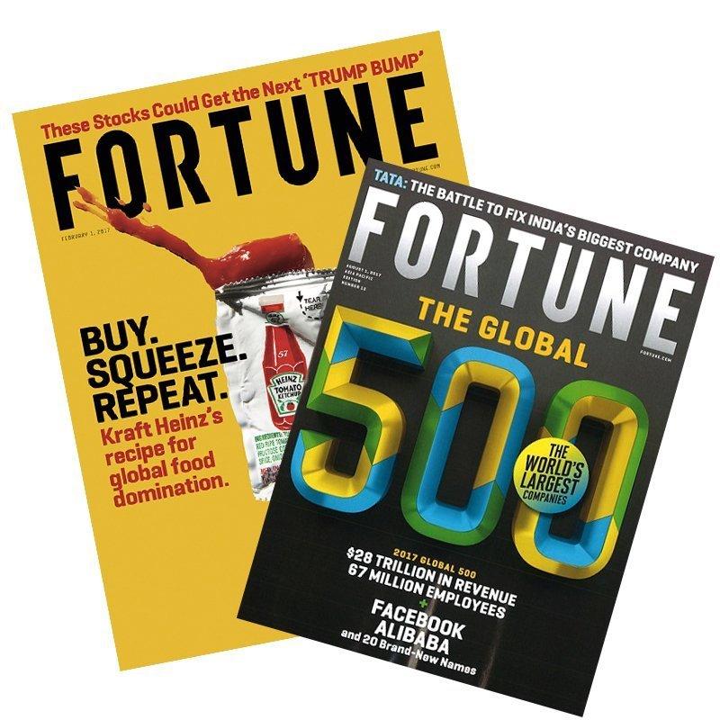 Fortune  財富雜誌 一年12期(6本)1