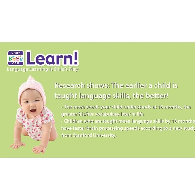 Your Baby Can Learn Deluxe《寶貝會閱讀「英文」系列》豪華套組4