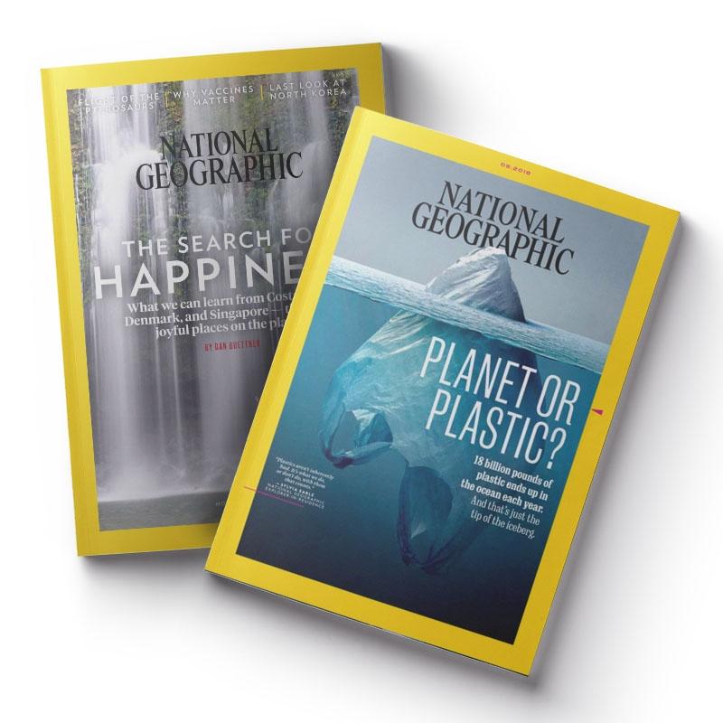National Geographic 國家地理雜誌(英文版) 一年12期+加送精選3期1