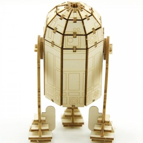 Jigzle  星際大戰R2D2機器人(95折)★家庭親子活動的首選5