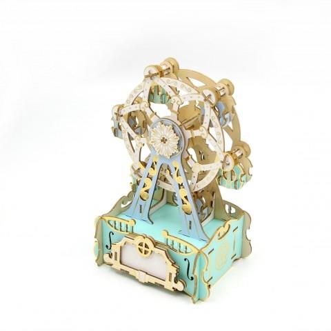 Jigzle  音樂盒摩天輪 彩色版(95折)★家庭親子活動的首選1