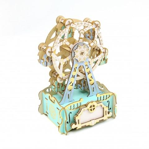 Jigzle  音樂盒摩天輪 彩色版(95折)★家庭親子活動的首選2