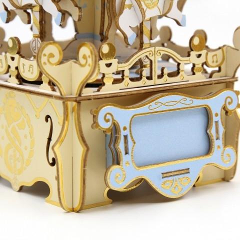 Jigzle  音樂盒旋轉木馬 彩色版(95折)★家庭親子活動的首選4