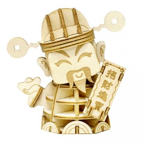 Jigzle  財神爺-中(95折)★家庭親子活動的首選3