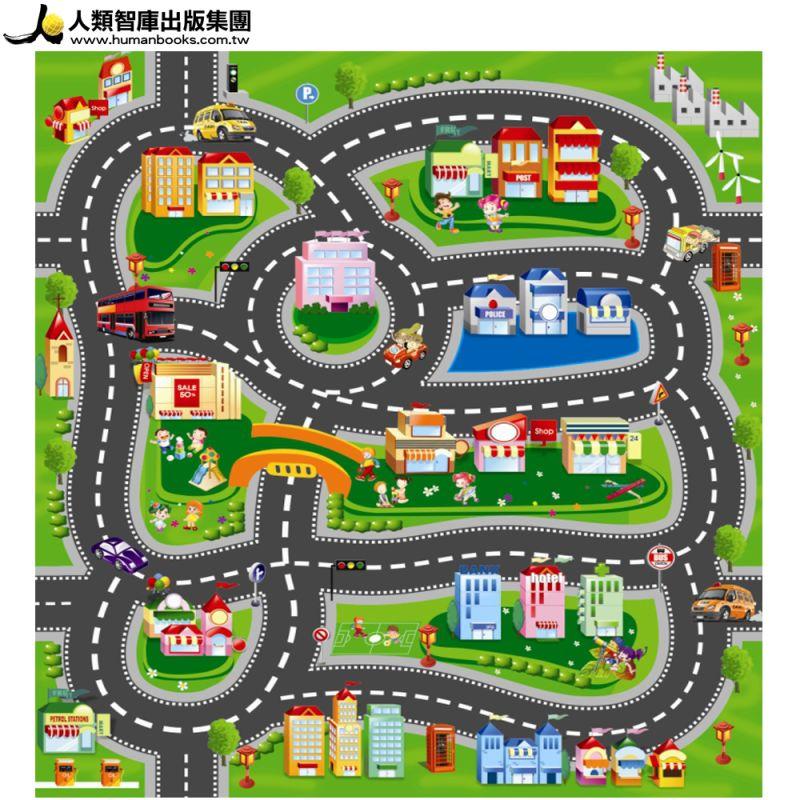 【人類文化】翻滾吧!寶貝遊戲地墊-城市(95折)2