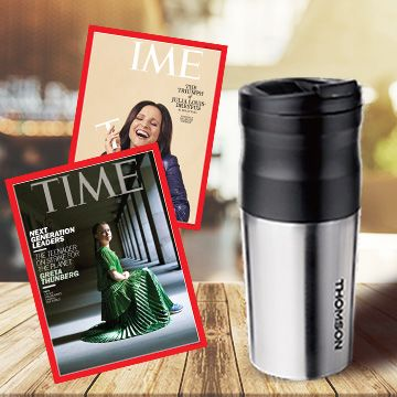 TIME 40期+ 送Thomson電動研磨咖啡隨行杯(贈品) ★送TIME數位版+送英文精裝書1