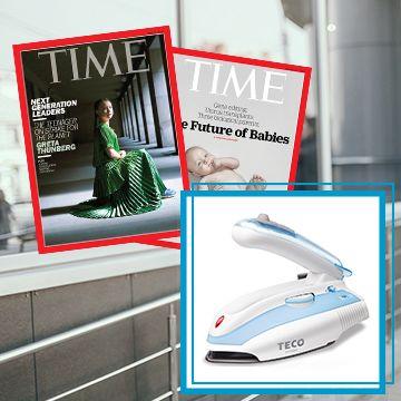 TIME 32期(8個月)+ 送TECO旅行/家庭兩用蒸汽電熨斗(贈品) ★送TIME數位版+送英文精裝書1