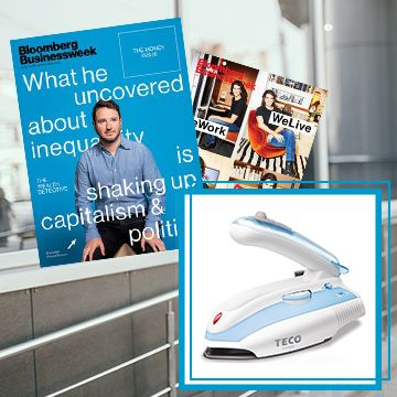 《Bloomberg Businessweek》一年(50期)+送TECO旅行/家庭兩用蒸汽電熨斗1