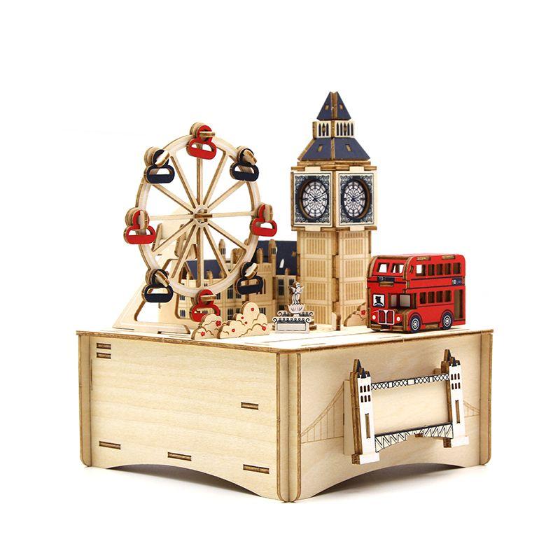 Jigzle  彩色音樂盒倫敦(95折)★家庭親子活動的首選2