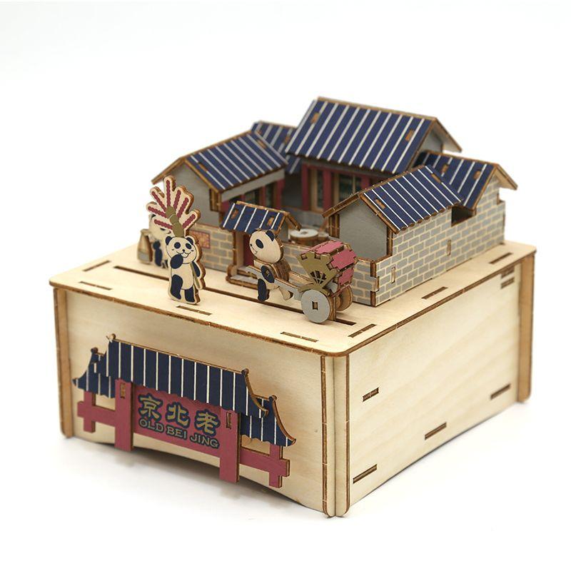 Jigzle  彩色音樂盒老北京(95折)★家庭親子活動的首選3