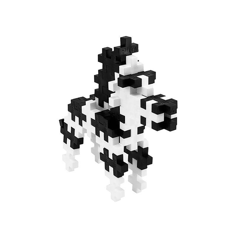 PLUS PLUS 加加積木 100PCS 斑馬(95折)3