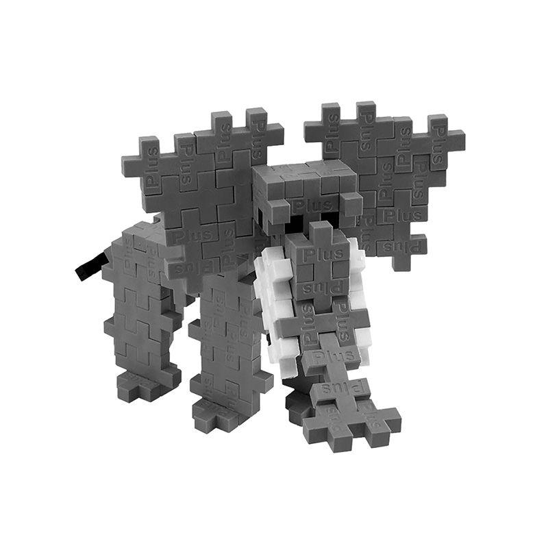 PLUS PLUS 加加積木 100PCS 大象(95折)3