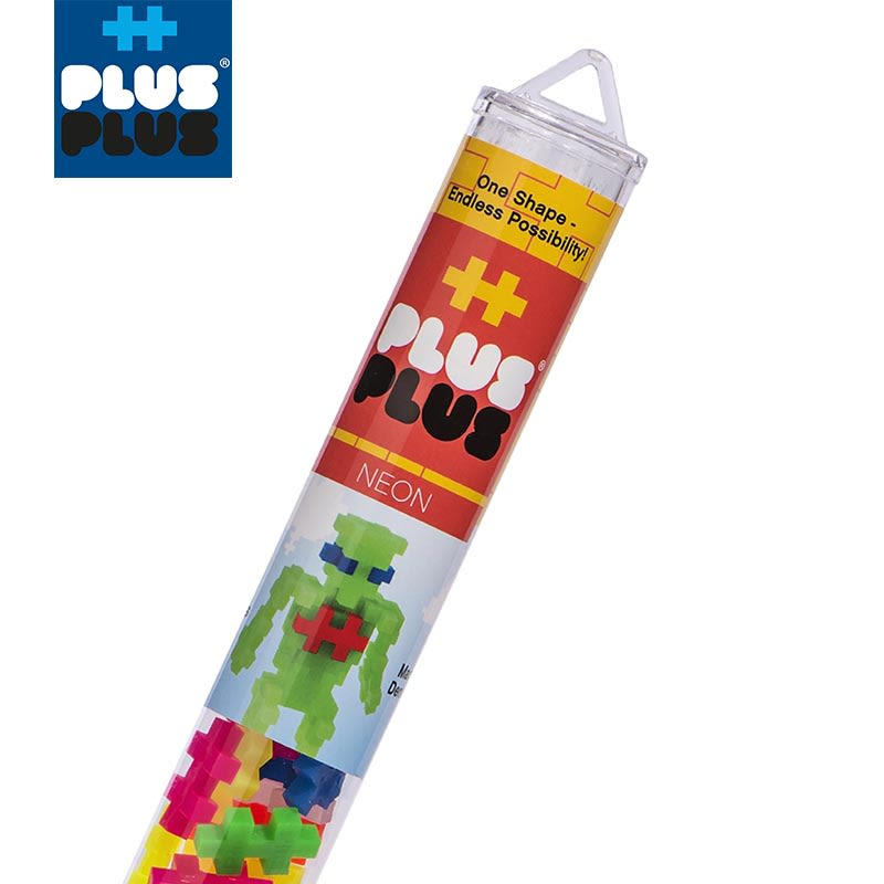 PLUS PLUS 加加積木 100PCS 霓虹系列(95折)1