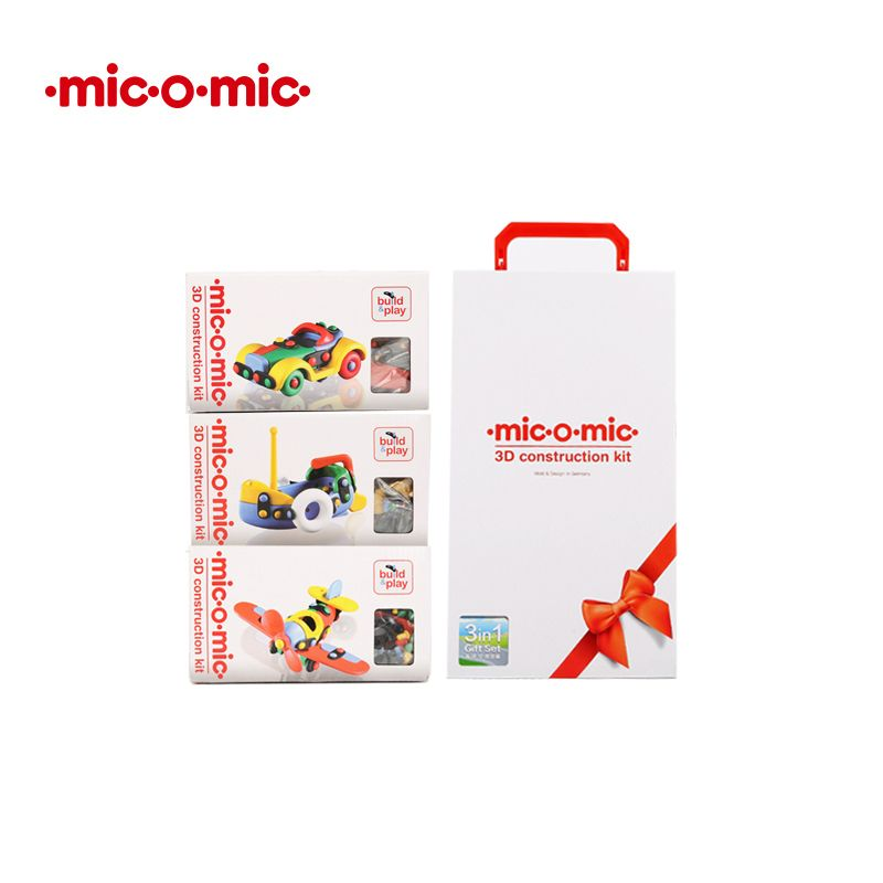 Mic o mic 德國經典工藝玩具-【最暢銷款】海陸空套裝(95折)1