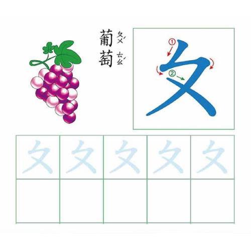 【人類童書】動手練習寫-全套8冊 5-12歲(95折)4