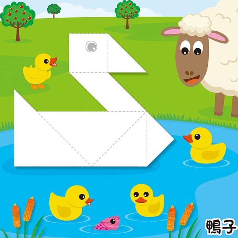 七巧板變變變+動物派對拼拼樂(95折)3
