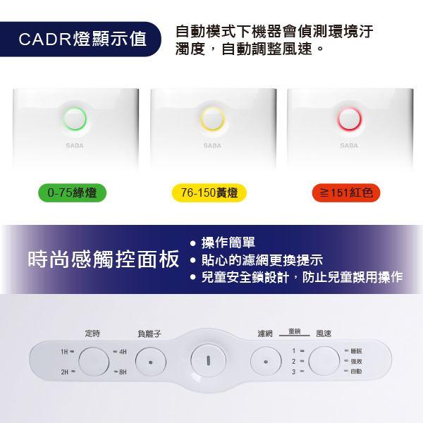 TIME 36期(9個月)+SABA PM2.5偵測抗敏空氣清淨機(新贈品) ★送TIME數位版+送英文精裝書7