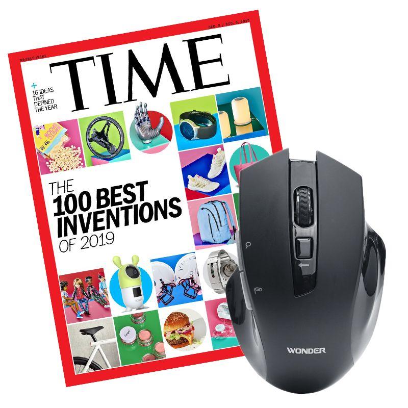 TIME 36期+AI無線語音打字翻譯滑鼠(新贈品) ★送TIME數位版+送英文精裝書1