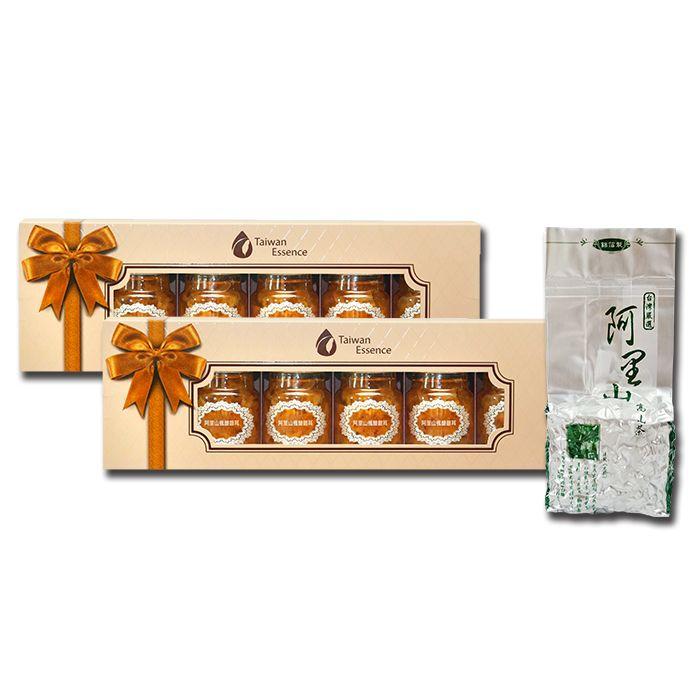 阿里山楓醣銀耳 2 盒 + 阿里山春茶 1 顆(9折)1