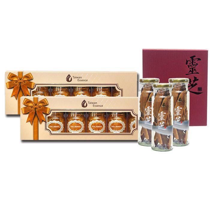 阿里山楓醣銀耳 2 盒 + 高山靈芝切片 1 盒(9折)1
