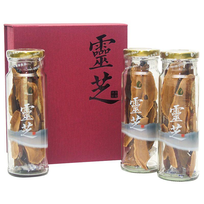 阿里山楓醣銀耳 2 盒 + 高山靈芝切片 1 盒(9折)5