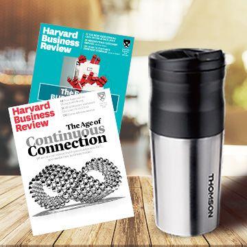 哈佛商業評論中文版 12期+ 送Thomson電動研磨咖啡隨行杯(贈品)1