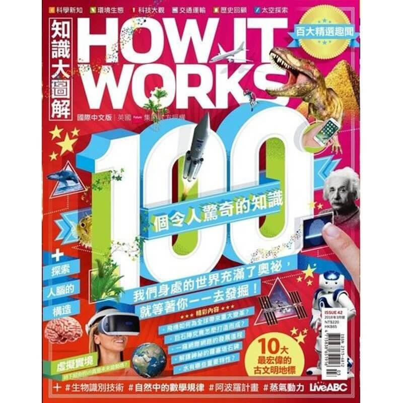 How It Works國際中文版 (續訂)一年12期+送好禮4選13