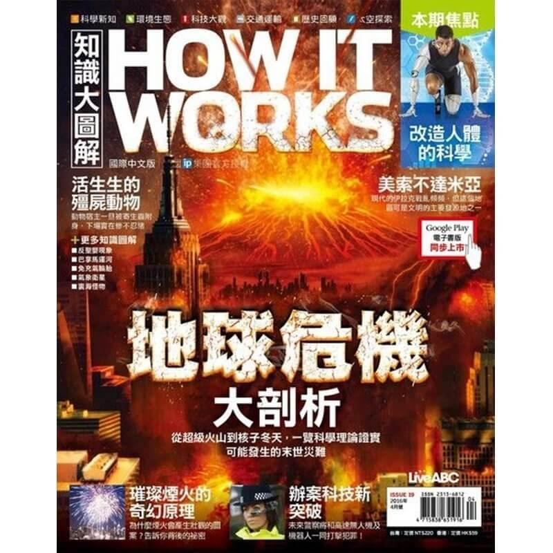 How It Works國際中文版 (師生價續訂)一年12期+送好禮4選13