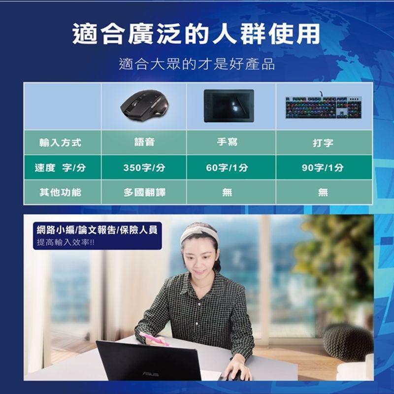 Fortune 財富雜誌 一年12期(6本)+AI無線語音打字翻譯滑鼠(新贈品)7